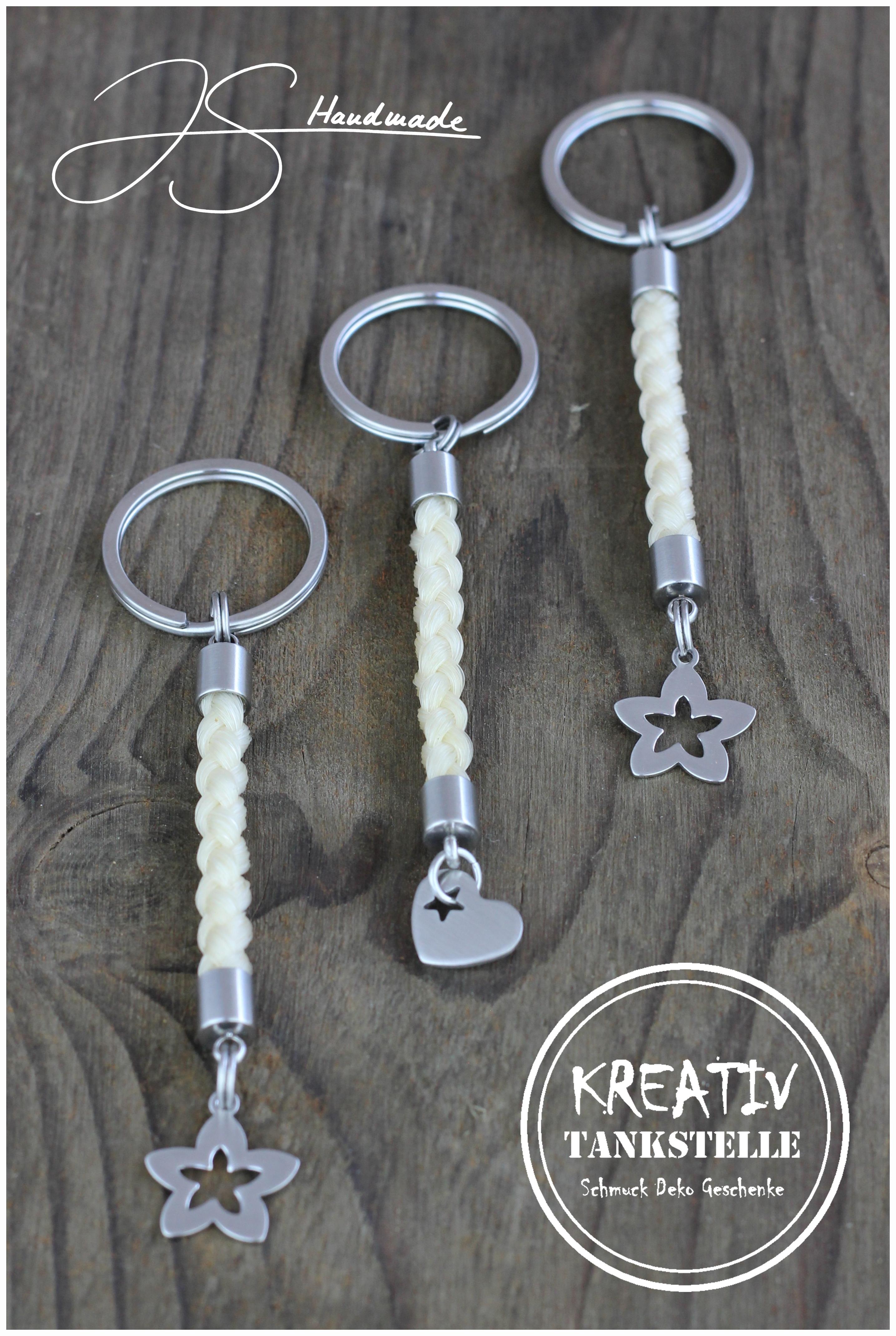 Schlüsselanhänger Aus Pferdehaar (1)